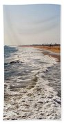 A Walk On The Beach Bath Towel