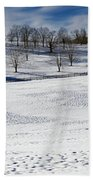 A Winters Day Hand Towel