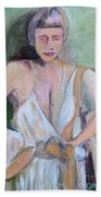 A Woman In Love Bath Towel