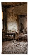Abandoned Asylum - Haunting Images - What Once Was Bath Towel
