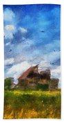 Abandoned Farm 03 Photo Art Bath Towel