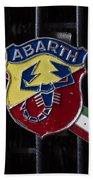 Abarth Emblem Bath Towel