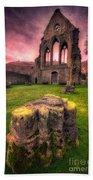 Abbey Ruin Bath Towel