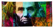 Abe The Broham Lincoln 20140217 Hand Towel