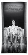 Abraham Lincoln Memorial Bath Towel