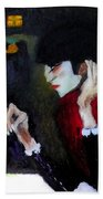 Absinthe Drinker After Picasso Bath Towel