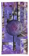 Abstract   Sphere Bath Towel