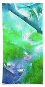 Abstract 15 Bath Towel