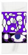 Abstract #24 Bath Towel