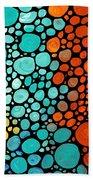 Mosaic Art - Abstract 3 - By Sharon Cummings Bath Towel