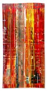 Abstract 7 Bath Towel