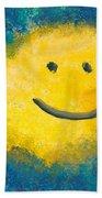 Abstract - Acrylic - Happy Abstraction Bath Towel