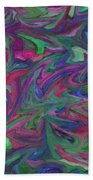Juncture - Abstract Art Bath Towel