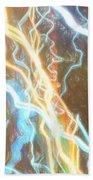 Light Painting - Abstract Art 2 Bath Towel