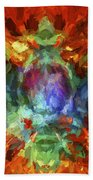 Abstract Series B5 Bath Towel