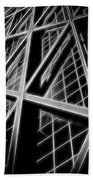 Abstract Buildings 2 Bath Towel