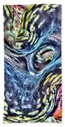 Fluted Giant Clam Hand Towel