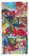 Abstract Collages 1 Bath Towel