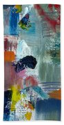 Abstract Color Relationships Lv Bath Towel