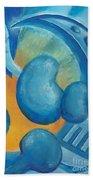 Abstract Color Study Bath Towel