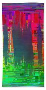 Abstract Cubed 113 Bath Towel