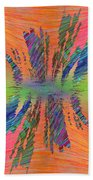 Abstract Cubed 168 Bath Towel