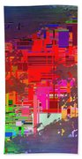 Abstract Cubed 2 Bath Towel