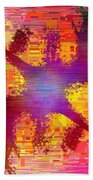 Abstract Cubed 26 Bath Towel