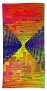Abstract Cubed 3 Bath Towel