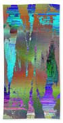 Abstract Cubed 75 Bath Towel