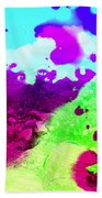 Abstract Desert Scene Bath Towel