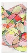 Abstract Drawing Twenty Bath Towel