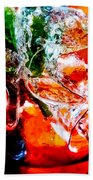 Abstract Drink Bath Towel