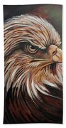 Abstract Eagle Painting Hand Towel