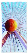 Abstract Ferris Wheel Bath Towel