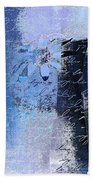 Abstract Floral - Bl3v3t1 Bath Towel
