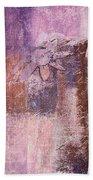 Abstract Floral- I55bt2 Bath Towel