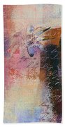 Abstract Floral - Xs01bt2 Bath Towel
