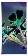 Abstract Flower - Digital Abstract Bath Towel