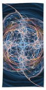 Abstract Fractal Background 08 Hand Towel