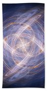 Abstract Fractal Background 17 Bath Towel