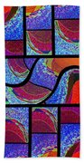 Abstract Fusion 168 Bath Towel