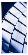 Abstract Glass Bath Towel