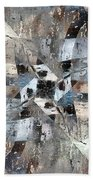 Abstract Graffiti 6 Bath Towel