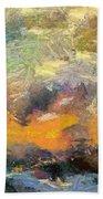 Abstract Landscape II Bath Towel