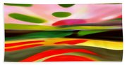 Abstract Landscape Of Happiness Bath Towel
