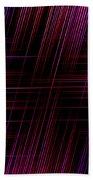 Abstract Lines 3 Bath Towel