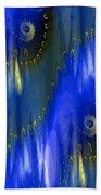 Abstract Nautilus Bath Towel
