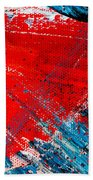 Abstract Original Artwork One Hundred Phoenixes Untitled Number Five Bath Towel