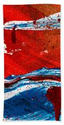 Abstract Original Artwork One Hundred Phoenixes Untitled Number Three Bath Towel